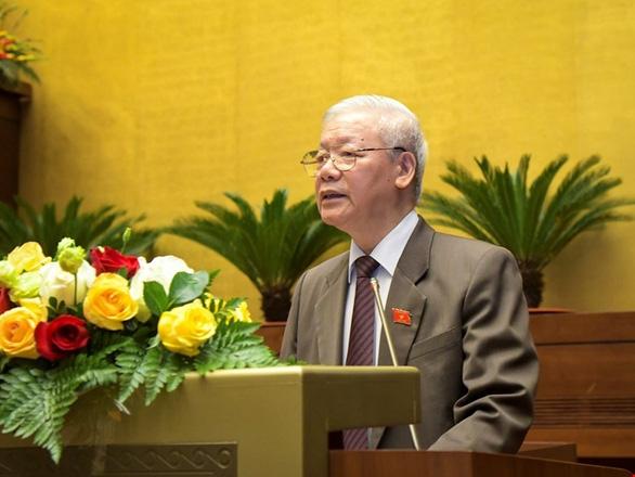 ổng bí thư, Chủ tịch nước Nguyễn Phú Trọng