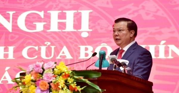 Tân Bí thư Thành ủy Hà Nội Đinh Tiến Dũng: Nhiệm vụ được giao là vinh dự, trách nhiệm lớn