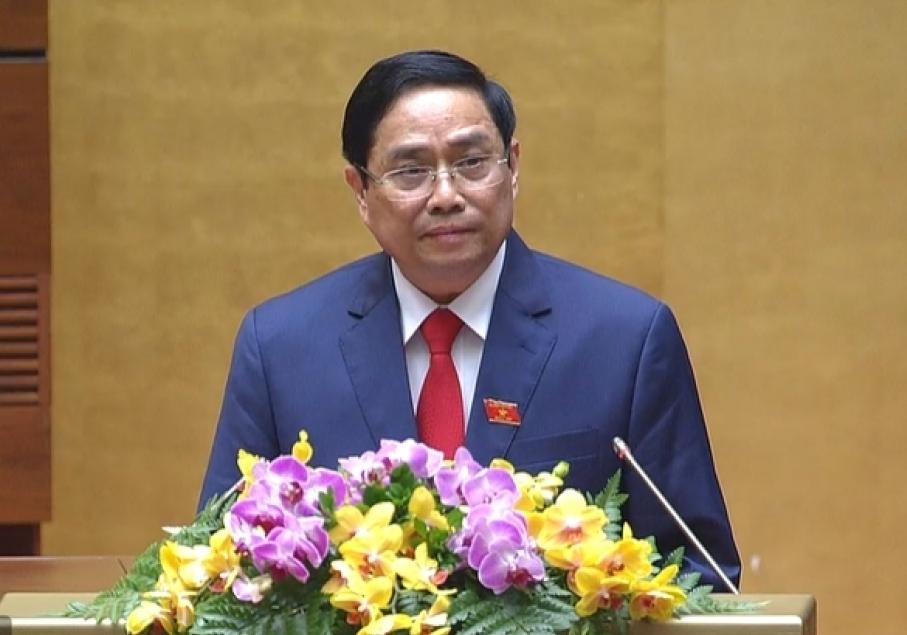 Tân Thủ tướng Phạm Minh Chính phát biểu nhậm chức