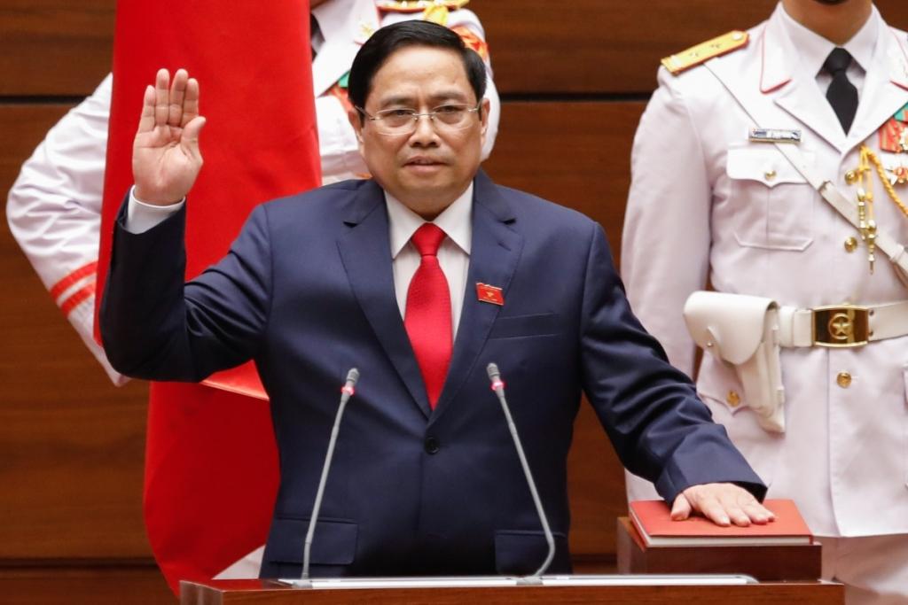 Tân Thủ tướng Phạm Minh Chính tuyên thệ trước Quốc hội