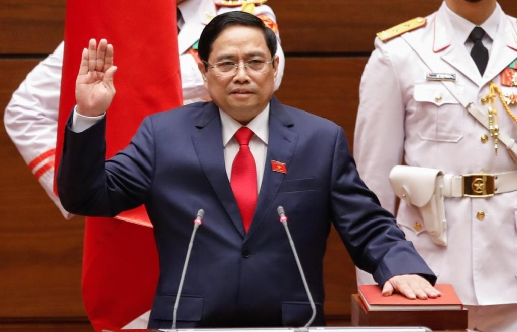 Tân Thủ tướng Chính phủ Phạm Minh Chính nguyện mang hết sức mình phục vụ Tổ quốc, Nhân dân