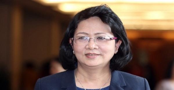 Trình miễn nhiệm Phó Chủ tịch nước đối với đồng chí Đặng Thị Ngọc Thịnh