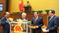 Quốc hội thực hiện quy trình bầu Phó Chủ tịch nước và Tổng Kiểm toán