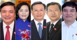Giới thiệu 5 nhân sự để bầu Ủy viên Ủy ban Thường vụ Quốc hội