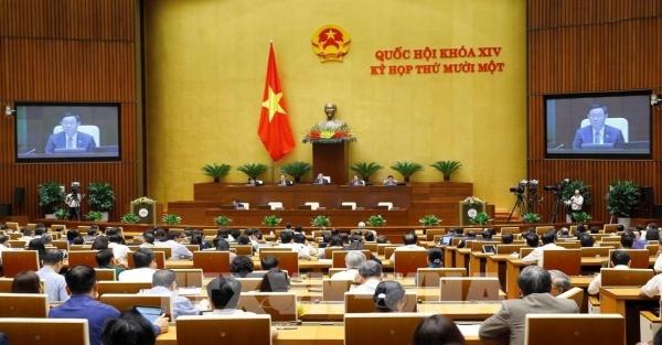 Quốc hội họp phiên bế mạc, kiện toàn bộ máy Chính phủ