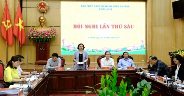 Quận Ba Đình tích cực, chủ động triển khai 10 chương trình công tác của Thành ủy
