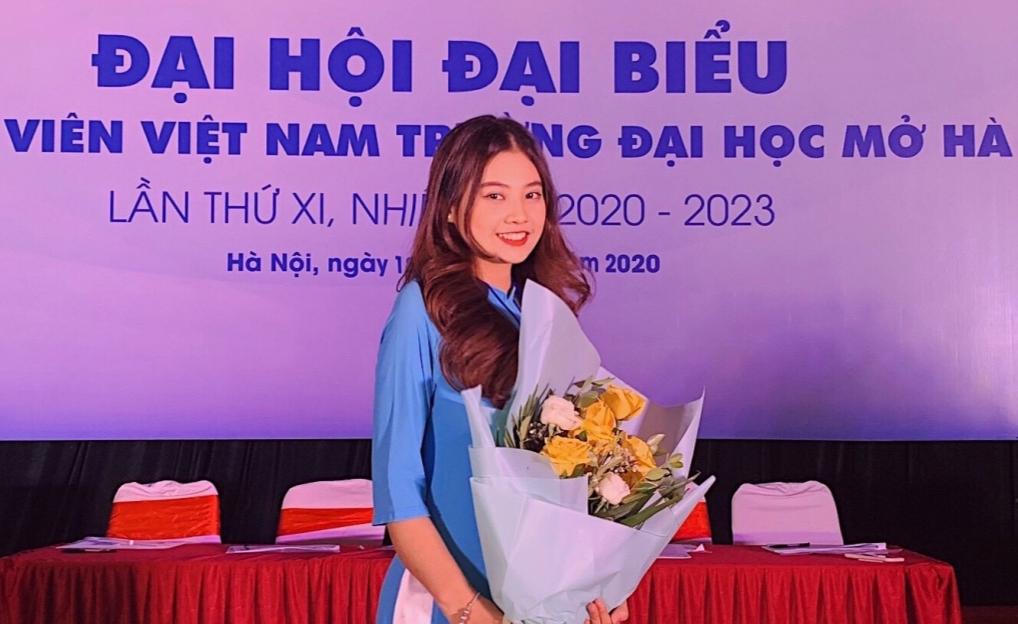 Phó chủ tịch Hội sinh viên Trường Đại học Mở Hà Nội, Nhiệm kỳ 2020 -2023