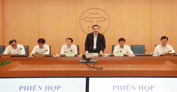 UBND TP Hà Nội đóng góp ý kiến vào dự thảo Chương trình hành động của Đảng bộ thành phố