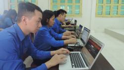 Thanh niên Thủ đô hào hứng tham gia cuộc thi tìm hiểu Nghị quyết Đại hội Đảng