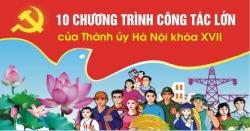 Thành ủy Hà Nội tổ chức hội nghị trực tuyến triển khai, tuyên truyền 10 chương trình công tác toàn khóa