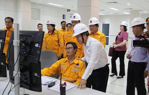 Công ty Khí Cà Mau phối hợp bảo đảm an ninh an toàn công trình khí