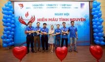 PV GAS cụm Bà Rịa - Vũng Tàu tham gia hiến máu tình nguyện