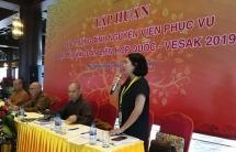 7.200 đoàn viên, thanh niên tham gia tình nguyện phục vụ Đại lễ Phật Đản