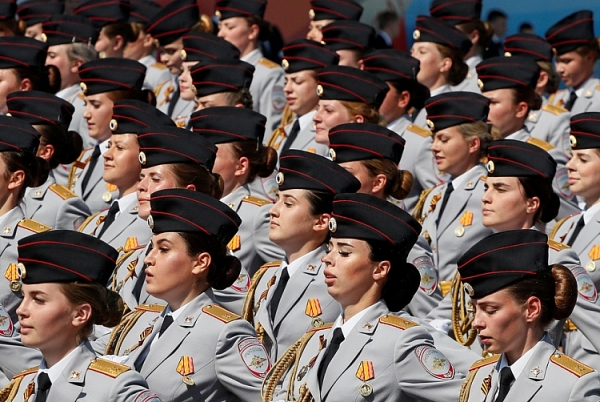 13000 binh si tham gia le duyet binh ngay chien thang tren quang truong do moskva nga