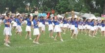 Mãn nhãn với màn đồng diễn dân vũ của 1000 thiếu nhi Thủ đô