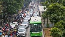 Hà Nội: Tăng tần suất xe buýt nhanh BRT trong giờ cao điểm