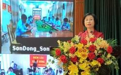 Cử tri huyện Ba Vì đánh giá cao chương trình hành động của ứng cử viên