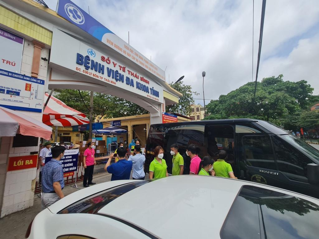 Tân Đệ tự bảo vệ người lao động và sát cánh cùng bệnh viện truy quét SARS-CoV-2