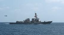 Mỹ điều khu trục hạm USS Mason đến vịnh Oman