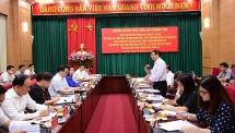 Đoàn kiểm tra của Bộ Chính trị làm việc với Hà Nội về công tác cán bộ và tổ chức bộ máy