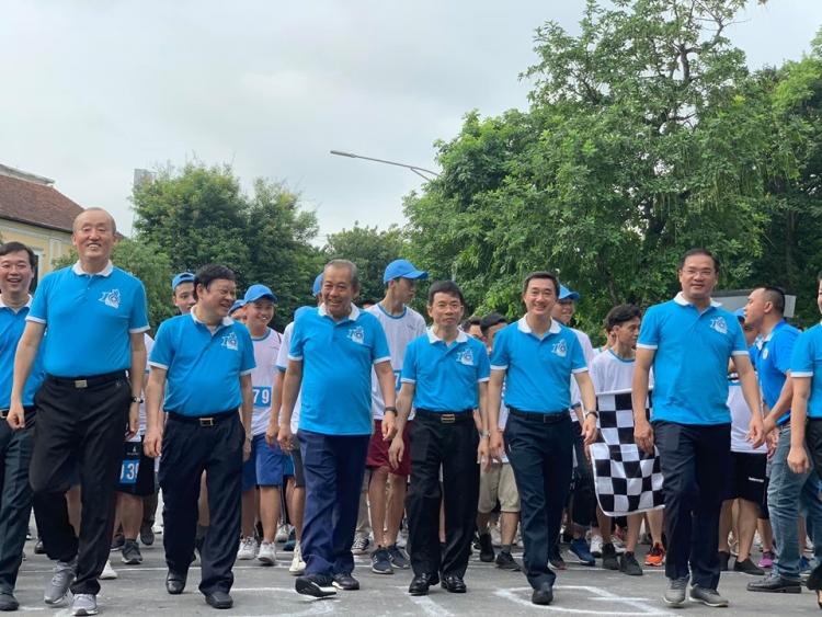 Hơn 1000 người tham gia cuộc thi Đi bộ vì sức khỏe