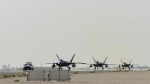 Mỹ điều thêm máy bay tàng hình F-22 đến Trung Đông