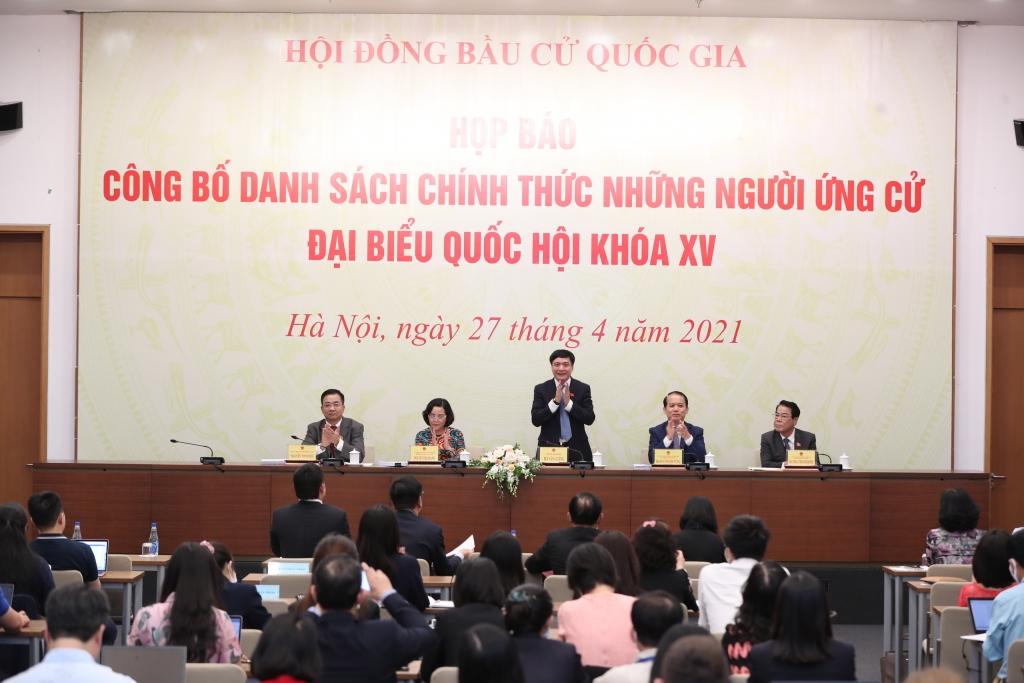 4 người tự ứng cử trúng cử đại biểu Quốc hội khóa XV