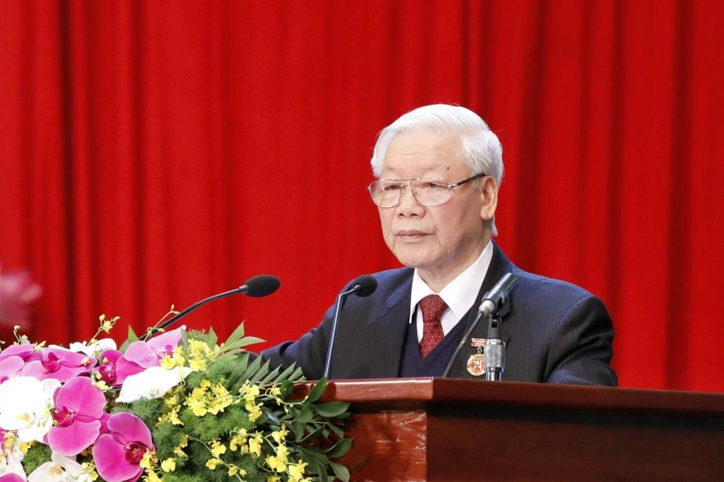 Tổng Bí thư Nguyễn Phú Trọng trúng cử đại bieur Quốc hội khóa XV