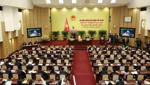 Hà Nội: Bầu Chủ tịch HĐND TP, Chủ tịch UBND TP tại kỳ họp thứ nhất, HĐND TP khóa XVI