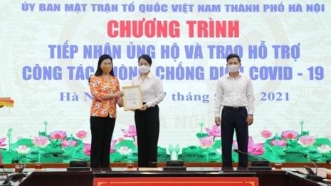 Hà Nội khuyến khích người dân, doanh nghiệp ủng hộ Quỹ phòng, chống dịch Covid-19