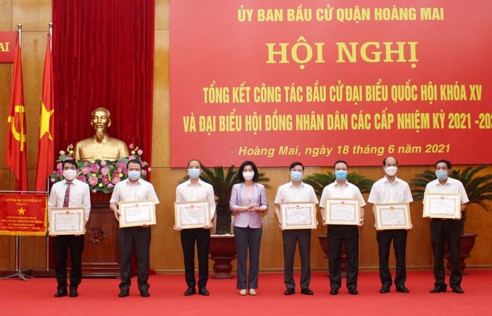 Quận Hoàng Mai (Hà Nội): Công tác bầu cử thành công tốt đẹp
