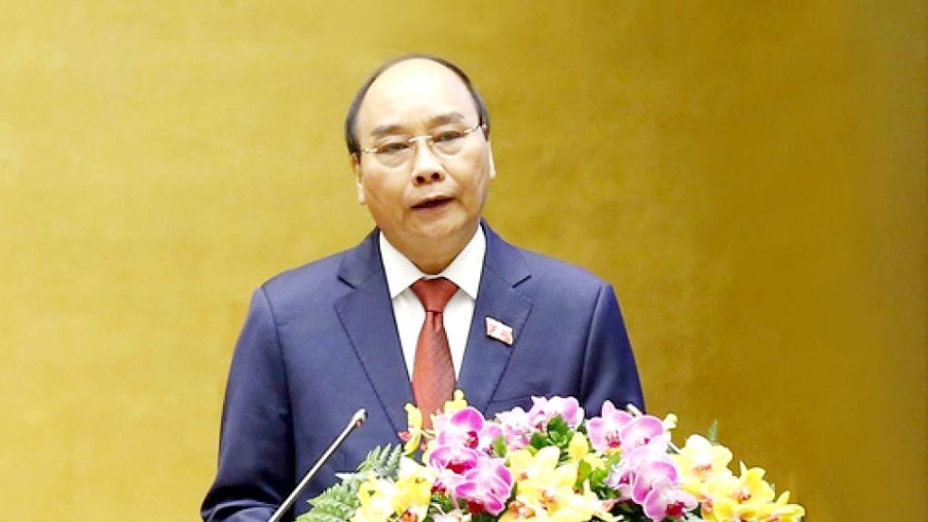 Chủ tịch nước Nguyễn Xuân Phúc gửi lời chúc mừng đến toàn thể các thế hệ những người làm báo cả nước (Ảnh: TTXVN)