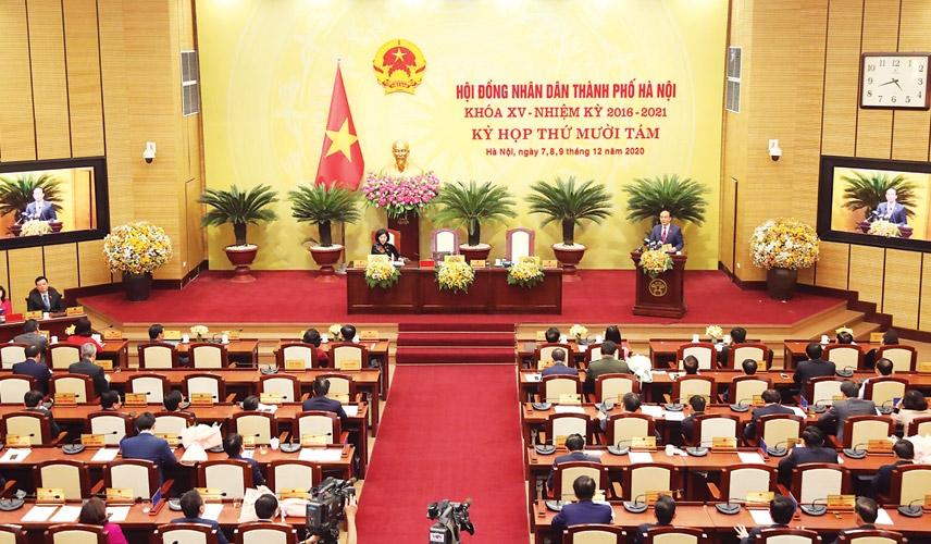 Sáng nay (23/6): Hà Nội bầu các chức danh chủ chốt HĐND, UBND TP nhiệm kỳ 2021-2026