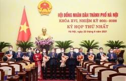 6 Phó Chủ tịch UBND TP Hà Nội tái đắc cử nhiệm kỳ 2021-2026