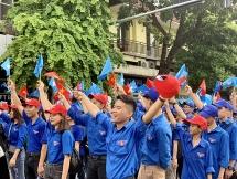 """Sắc xanh tình nguyện góp cho """"Thành phố vì hòa bình"""""""