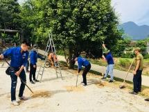 Dấu chân tình nguyện trên vùng khó