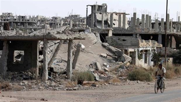 syria quan doi pha huy cac trai huan luyen chien binh thanh chien