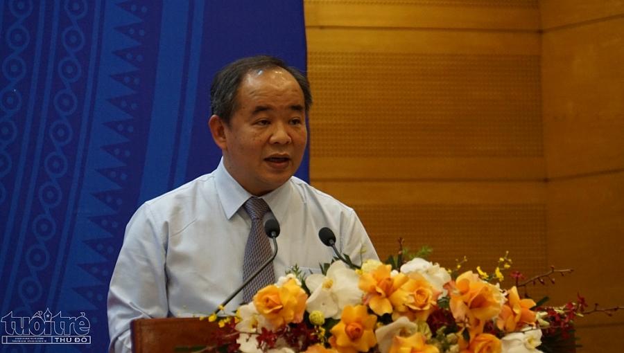 Ông Lê Khánh Hải Chủ nhiệm Văn phòng Chủ tịch nước công bố toàn văn quyết định về đặc xá năm 2021 của Chủ tịch nước