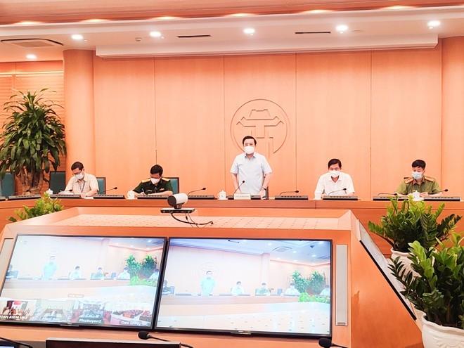 Phó Chủ tịch UBND TP Hà Nội Chử Xuân Dũng kết luận phiên họp