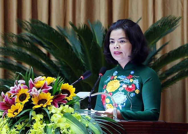 Bà Nguyễn Hương Giang - Chủ tịch UBND tỉnh Bắc Ninh