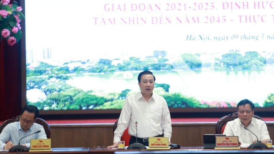 Mục tiêu phát triển công nghiệp văn hóa là bảo tồn di sản và xây dựng người Hà Nội thanh lịch văn minh