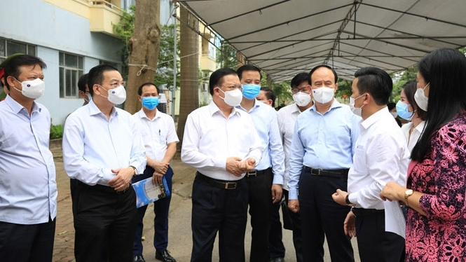 Bí thư Thành ủy Hà Nội: Tập trung cao độ, bảo vệ bằng được thành quả phòng, chống dịch