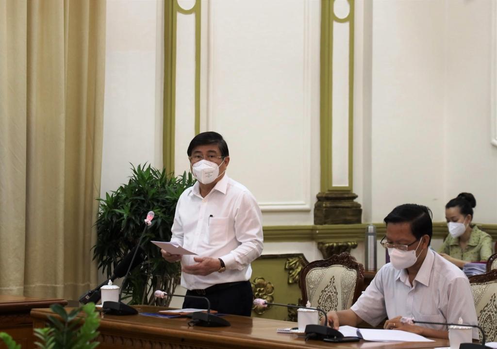 Chủ tịch UBND TP HCM Nguyễn Thành Phong nhấn mạnh 5 giải pháp trọng tâm