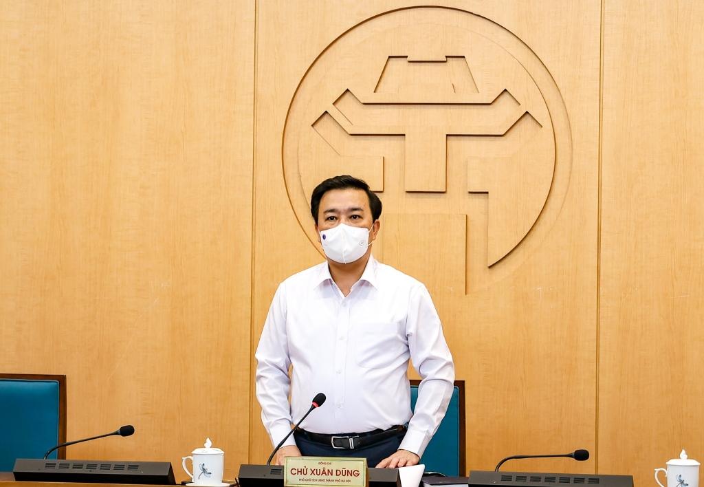 Phó Chủ tịch UBND TP Chử Xuân Dũng kết luận phiên họp