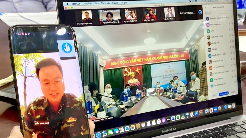 Hội nghị được tổ chức theo hình thức trực tuyến