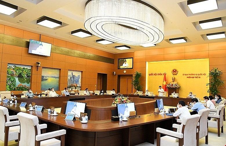 Bế mạc phiên họp thứ 58 của Uỷ ban Thường vụ Quốc hội.