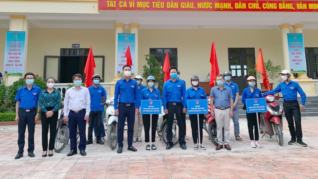 Đoàn viên, thanh niên ra quân tuyên truyền xây dựng Nông thôn mới