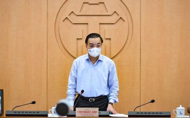 Chủ tịch UBND TP Hà Nội Chu Ngọc Anh