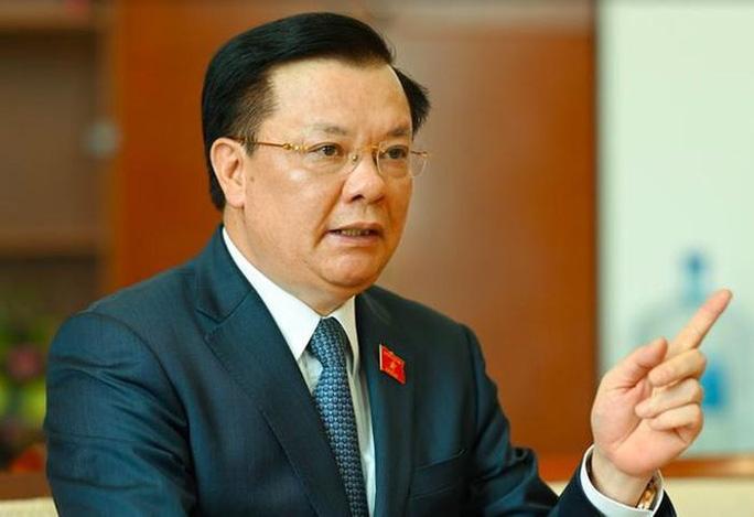 Bí thư Thành ủy Hà Nội Đinh Tiến Dũng yêu cầu chủ động chuẩn bị, không để bị động khi dịch diễn biến xấu.