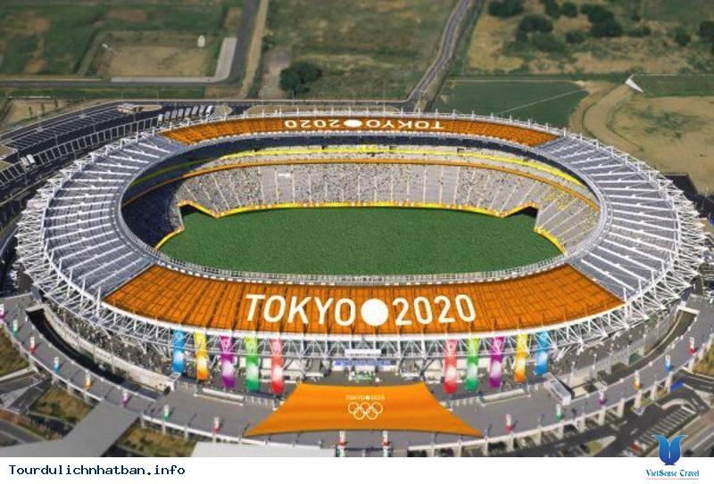 sSân vận động Olympic ở Tokyo, Nhật Bản
